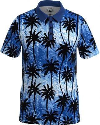 Trippy Palms - Blue