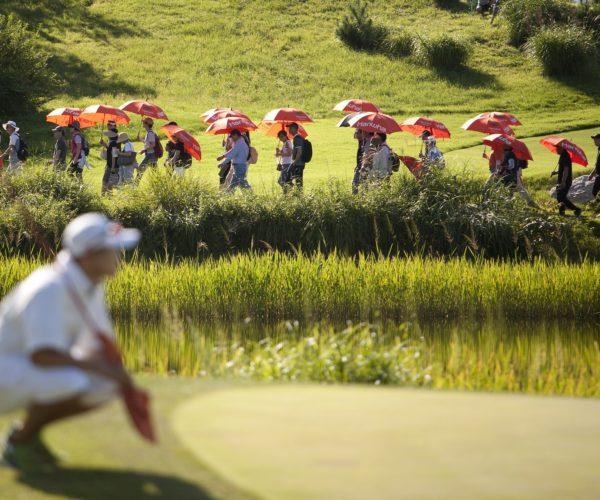 Golf Course & Golf Player - Golf Scrambles